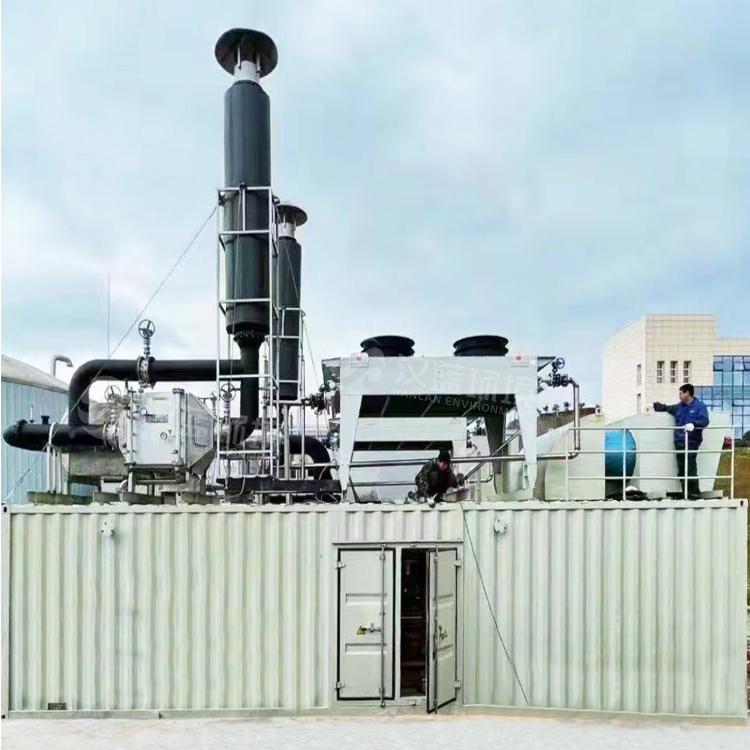 万纯餐厨垃圾沼气机组脱硝设备在四川某电站圆满通关