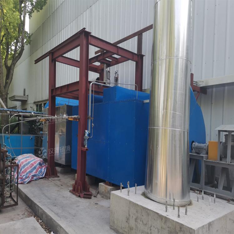 万纯燃油小锅炉SCR脱硝系统